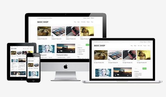 web bán hàng - thư viện website mẫu